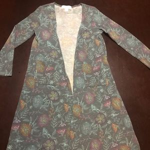 Girls Duster with Pockets. Size 8.